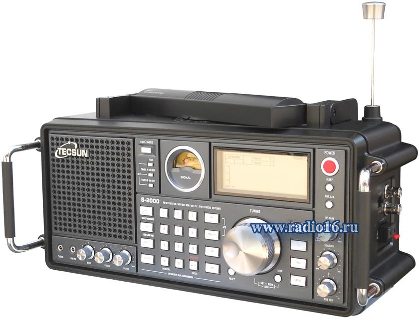 TECSUN S-2000 - профессиональный всеволновой цифровой приемник.  Это полная лицензионная копия известной модели...