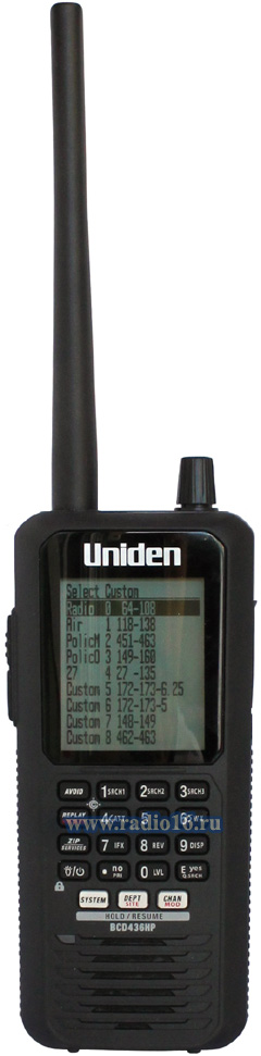 UNIDEN BCD436HP