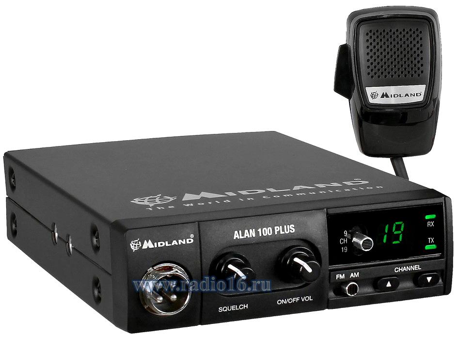 Установка рации Alan 1 plus и антенны Midland ML-145