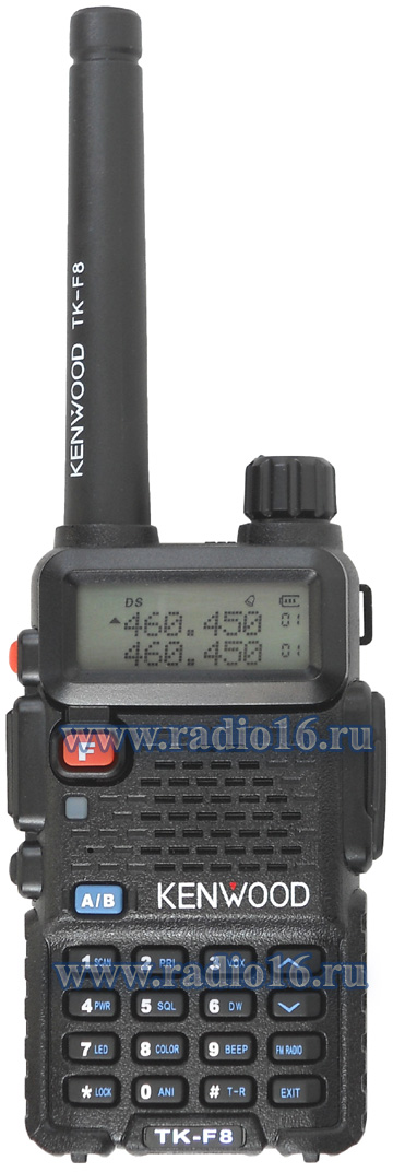 Инструкция по эксплуатации радиостанции Kenwood TK-F8 Dual