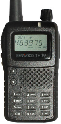 KENWOOD TH-F5 VHF TURBO